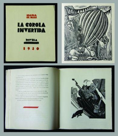Grabado En Madera Mendez - La Corola Invertida - novella by Maria Del Mar