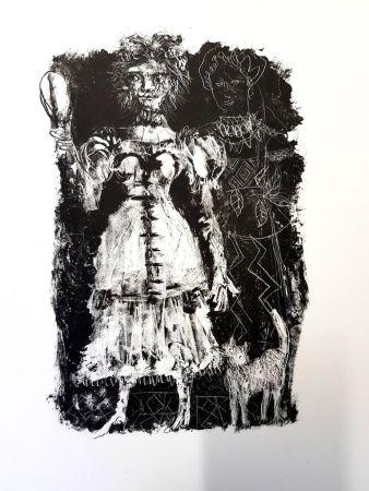Litografía Clavé - La Dame de Pique de Pouchkine