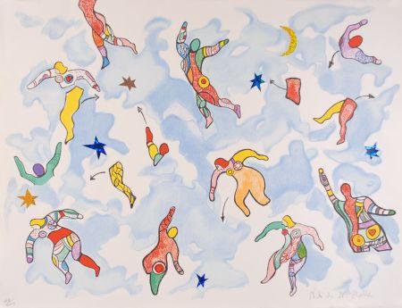 Litografía De Saint Phalle - La danse éclatée