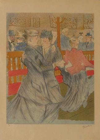 Litografía Toulouse-Lautrec - La danse au Moulin Rouge