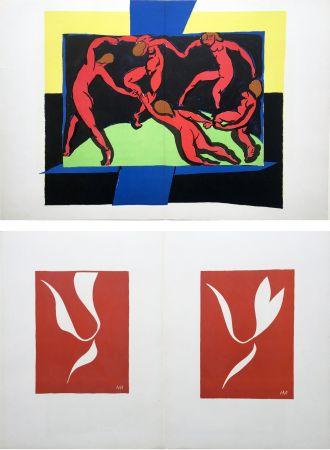 Litografía Matisse - LA DANSE (D'après le célèbre tableau d' Henri Matisse)