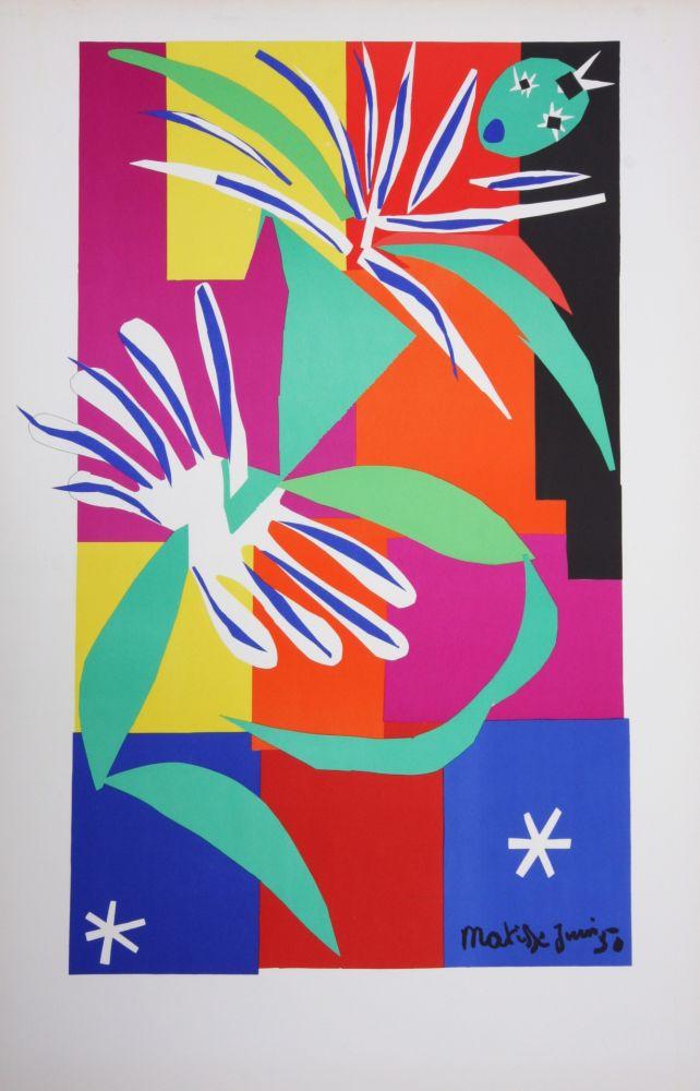 Litografía Matisse - La Danseuse Creole
