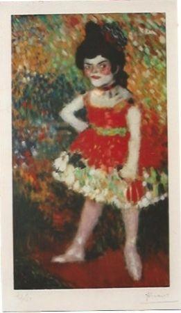 Litografía Picasso - La Danseuse Naine (La anana)