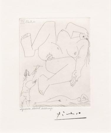 Grabado Picasso - La Demesure du Peintre