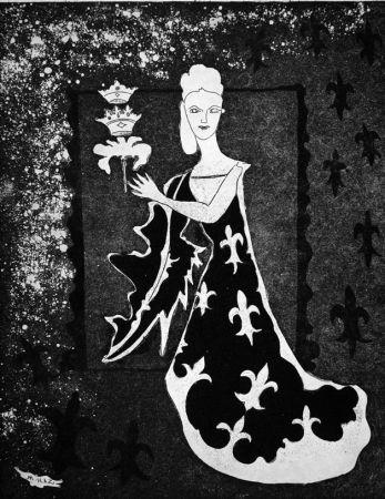 Aguafuerte Haz - La duchessa di Guermantes