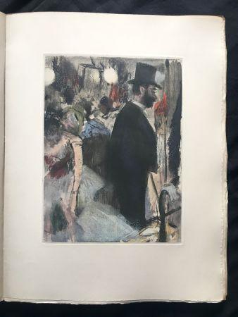 Libro Ilustrado Degas - LA FAMILLE CARDINAL.  (Ludovic Halévy). 1938