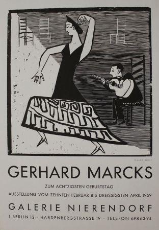 Grabado En Madera Marcks - La farucca