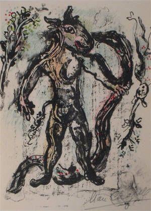 Litografía Chagall - La Feerie Et Le Royaume