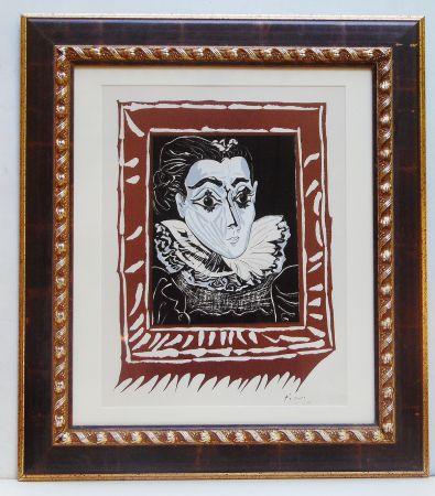 Litografía Picasso - La Femme A La Fraise