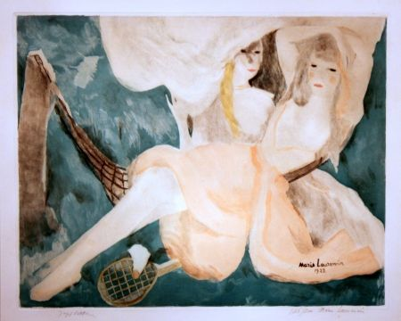 Aguatinta Laurencin - La Femme Au Hamac