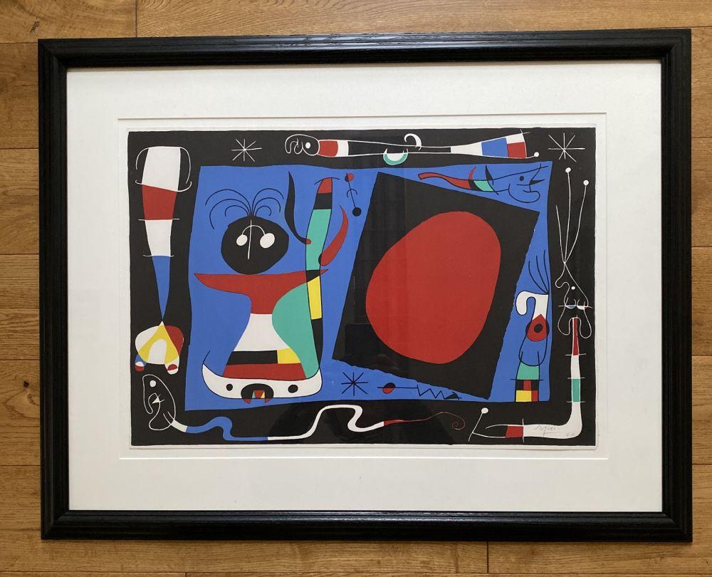 Litografía Miró - La Femme Au Miroir