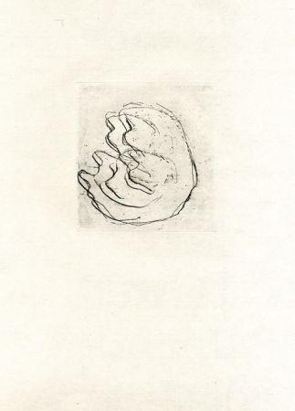 Aguafuerte Fautrier - La femmes aux seins