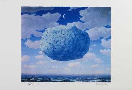 Litografía Magritte - La Fleche de Zenon