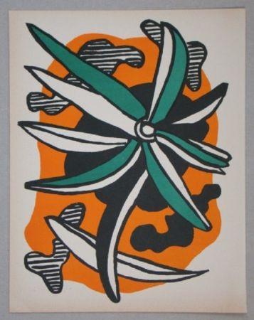 Litografía Leger - La fleur