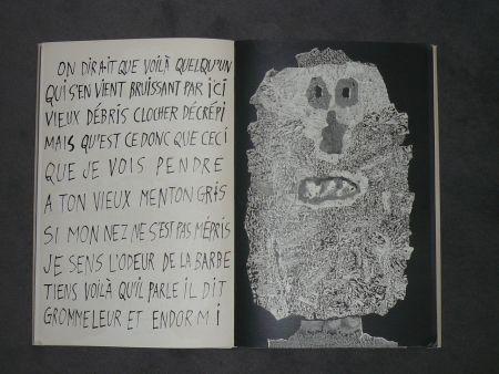 Libro Ilustrado Dubuffet - La fleur de barbe
