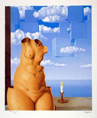 Litografía Magritte - La Folie des Grandeurs II