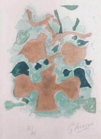 Litografía Braque - La Forêt
