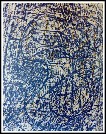 Litografía Ernst - LA FORET BLEUE