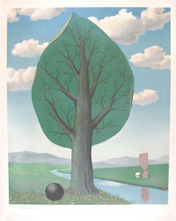 Litografía Magritte - La Géante