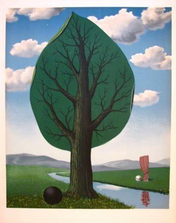 Litografía Magritte - La géante II