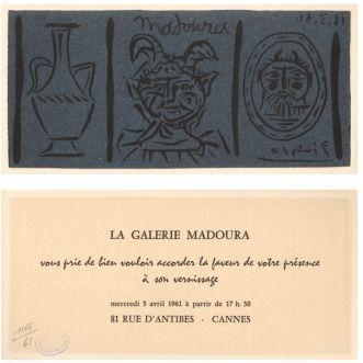Linograbado Picasso - La Galerie Madoura