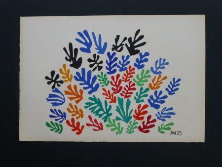 Litografía Matisse - La gerbe, 1953
