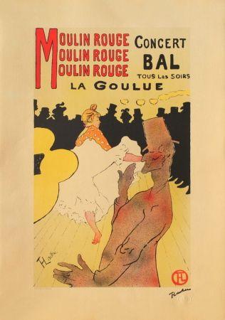 Litografía Toulouse-Lautrec - LA GOULUE AU MOULIN-ROUGE II