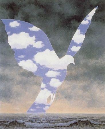 Litografía Magritte - La grande famille
