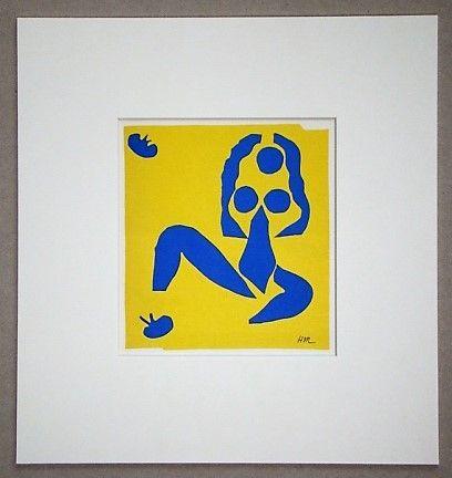 Litografía Matisse (After) - La grenouille - 1952