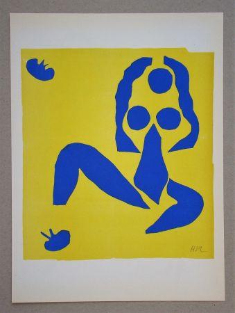 Litografía Matisse (After) - La grenouille - 1953