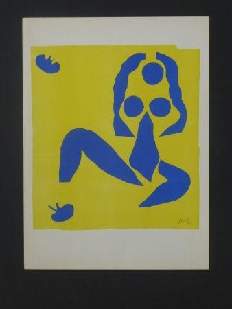 Litografía Matisse - La grenouille, 1952