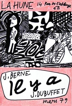 Cartel Dubuffet - La Hune  J Berne Il y a