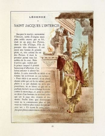 Libro Ilustrado Lunois - La légende dorée