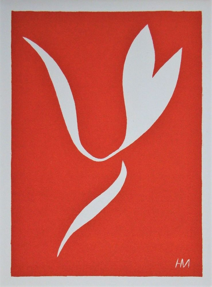 Linograbado Matisse - La Lance