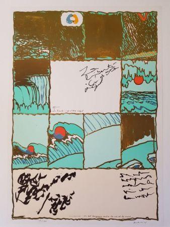 Litografía Alechinsky - La liberté c'est d'être inégal
