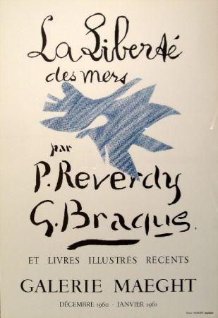 Litografía Braque - La Liberté des mers