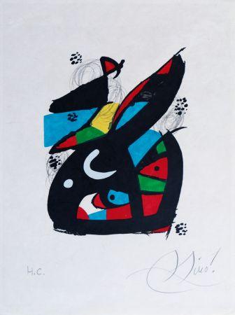 Litografía Miró - La mélodie acide