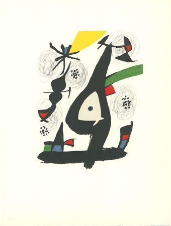 Litografía Miró - La mélodie acide - 1