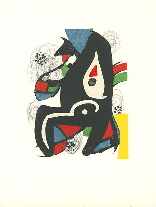 Litografía Miró - La mélodie acide - 10