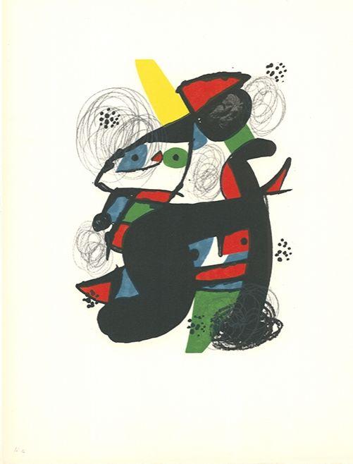 Litografía Miró - La mélodie acide - 11
