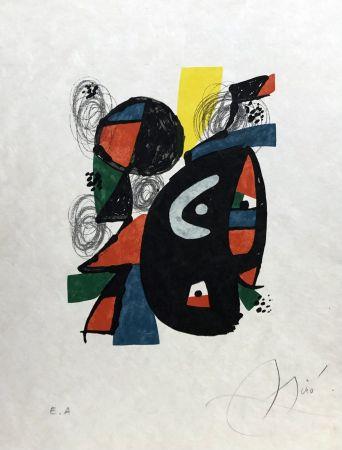 Litografía Miró - La mélodie acide - 12