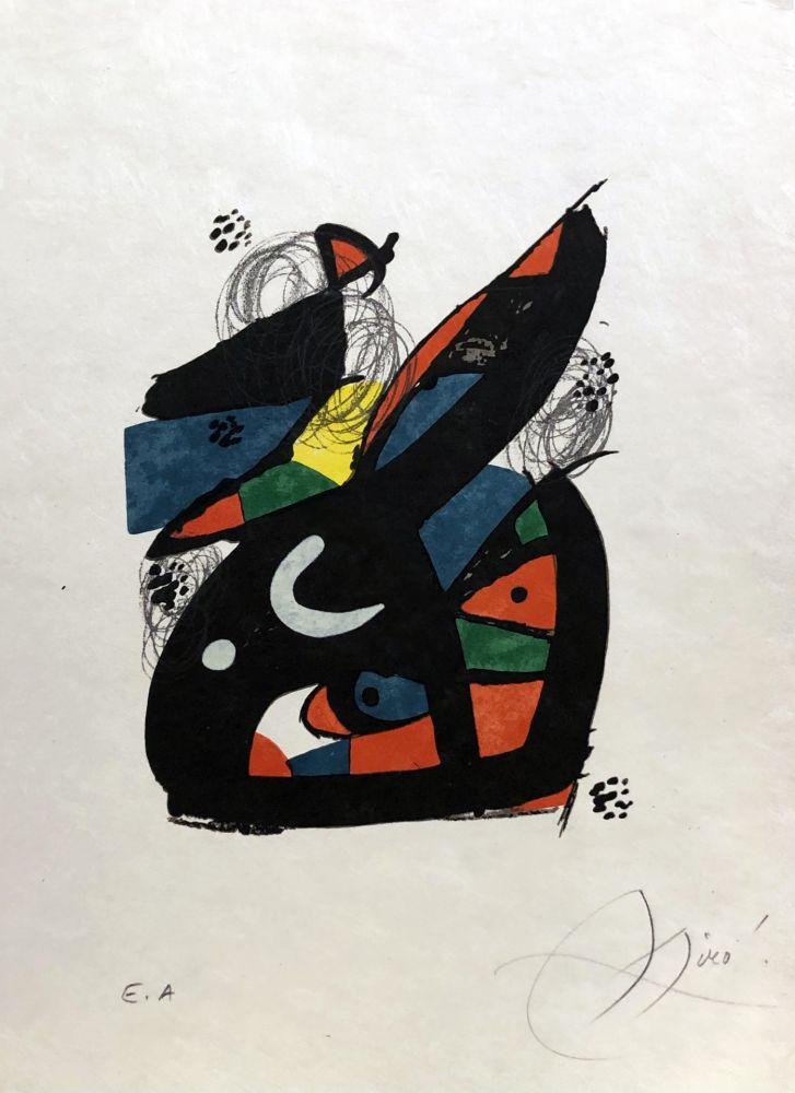 Litografía Miró - La mélodie acide - 13