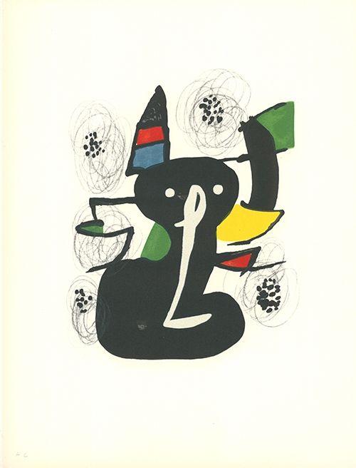 Litografía Miró - La mélodie acide - 3