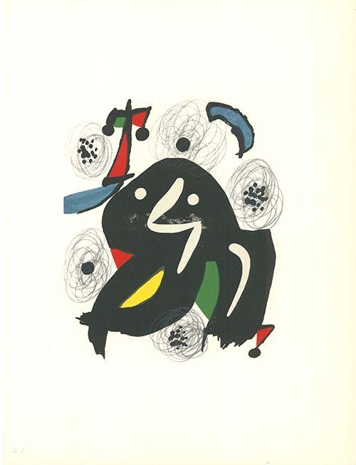 Litografía Miró - La mélodie acide - 4