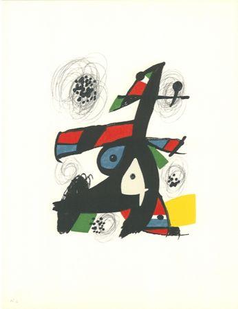 Litografía Miró - La mélodie acide - 5