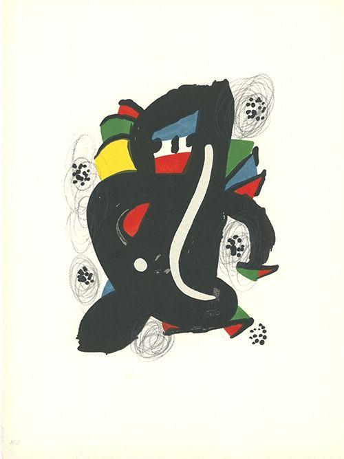 Litografía Miró - La mélodie acide - 6