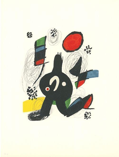Litografía Miró - La mélodie acide - 7