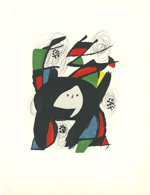 Litografía Miró - La mélodie acide - 8