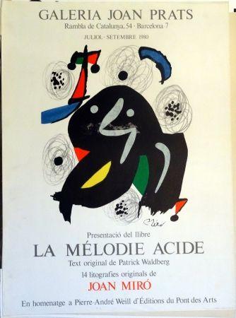 Cartel Miró - La Mélodie Acide 1980
