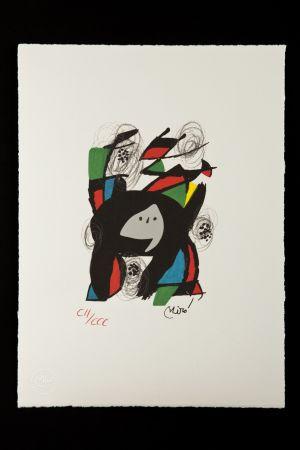 Litografía Miró - La mélodie acide VIII